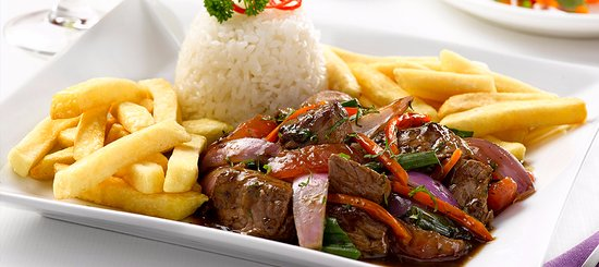 About Peru - Lomo Saltado, a very famous Peruvian dish
